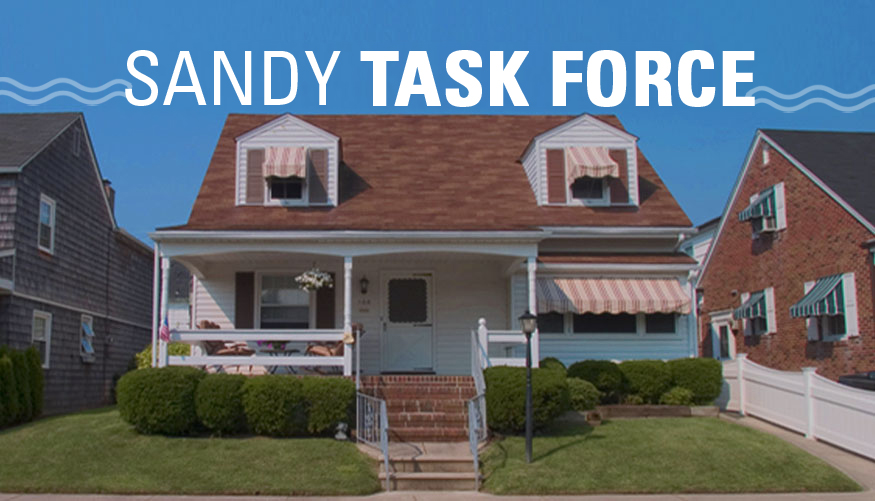Menendez Formed the Sandy Task Force to Examine Claims Process Problems for Superstorm Sandy Victims