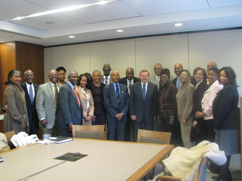 Menendez Hosts Roundtable With African-American Clergy & Community Leaders
