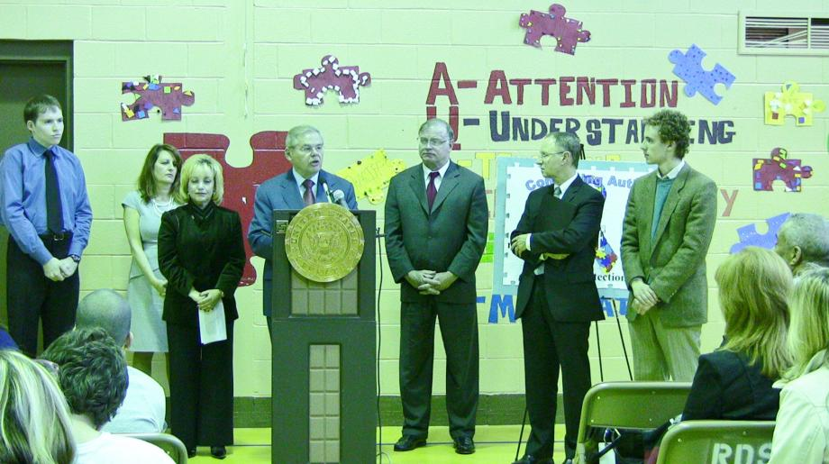 Menendez Celebrates Signing of Comating Autism Reauthorization Act