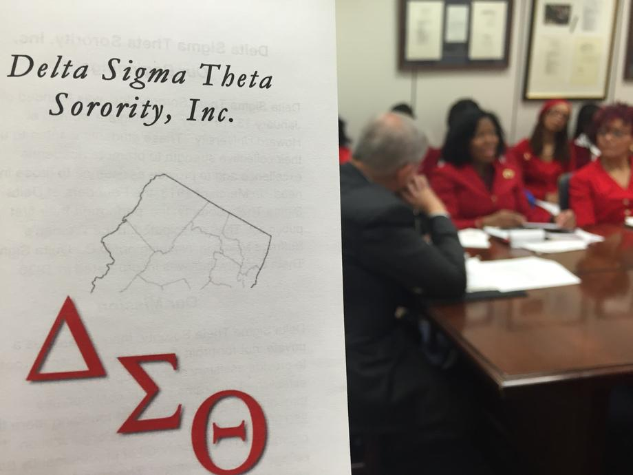Delta Sigma Theta Meeting