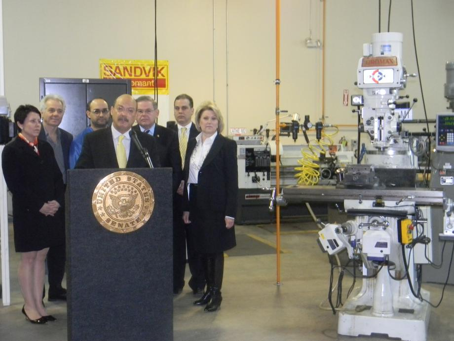 Senator Unveils Proposals to Close the Skills Gap (Bergen, NJ)