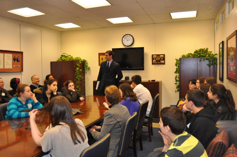 Kellman Brown Academy Students Visit DC