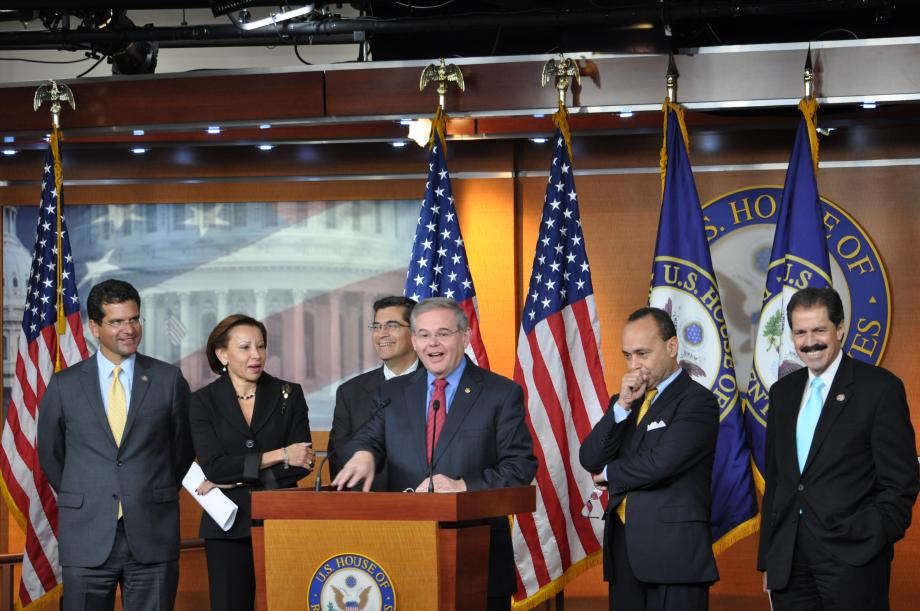 Congressional Hispanic Caucus Presser on the Nomination of  Mari Carmen Aponte (Washington D.C.)