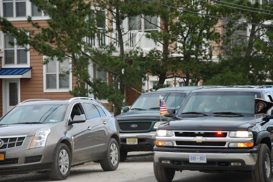 President Barack Obama arrives in Briganitine, NJ to see the storm damage first-hand. October 31, 2012