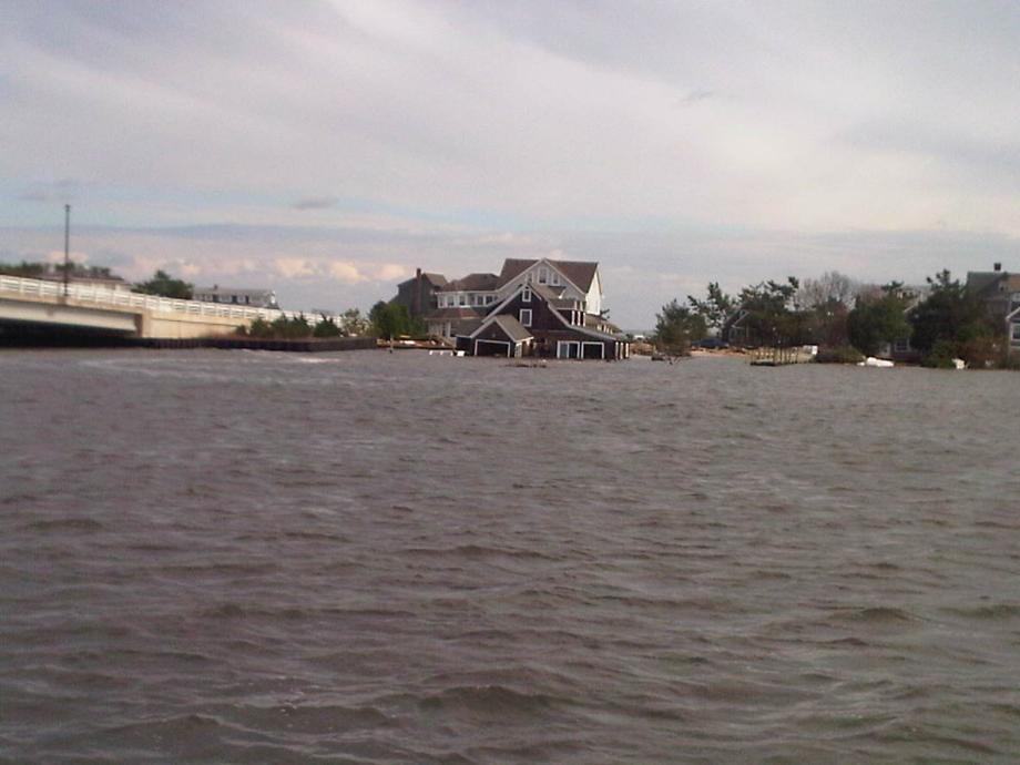 Surveying Hurricane Sandy Aftermath