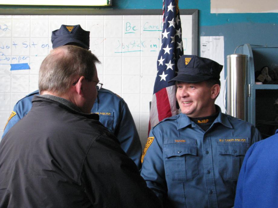 Meeting with Seaside Heights First Responders. November 18, 2012