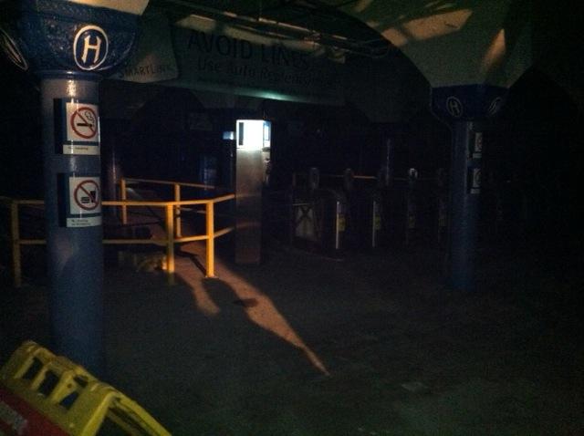 Hoboken Train Station. November 2, 2012