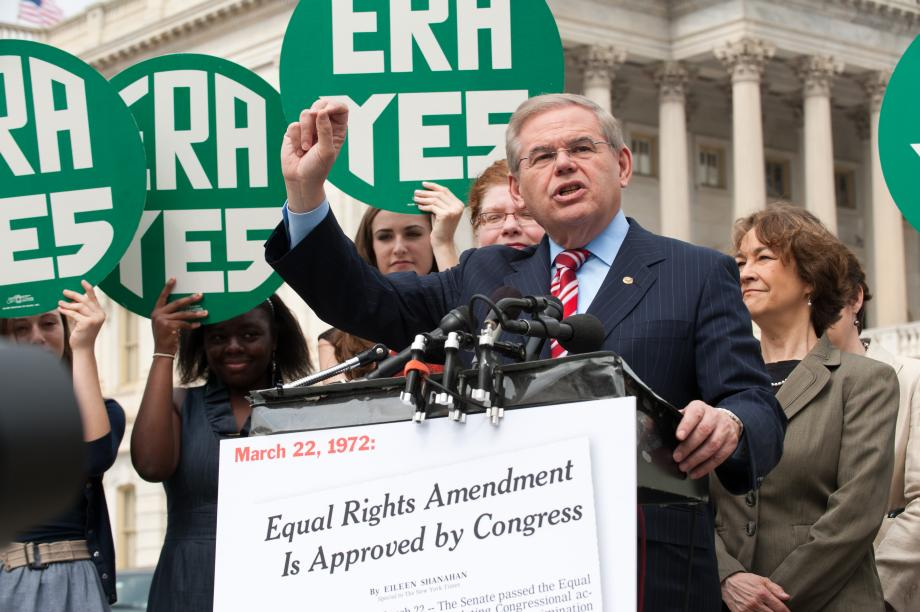 Rep. Maloney, Sen. Menendez Mark 40th Anniversary of Passage of Equal Rights Amendment with Renewed Call for Constitutional Protection of Women