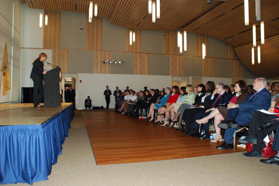 The keynote address by Ambassador Samantha Power.