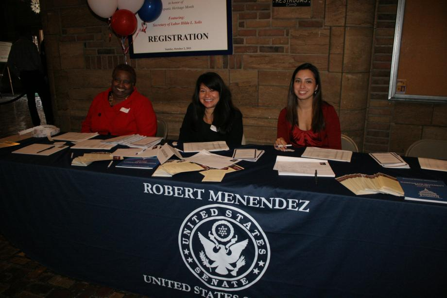 Menendez Hosts Second Annual Hispanic Heritage Month Celebration (Newark, NJ)