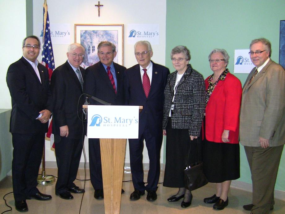 Funding for St. Mary's Hospital in Passaic (Passaic, NJ)