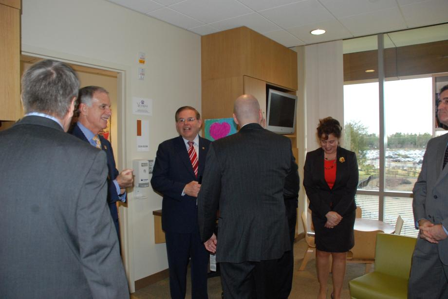 Senator Menendez Recognizes Teen Cancer Awareness Week at Virtua Health in Southern NJ