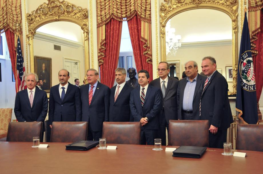 Syrian Opposition Coalition Visits SFRC