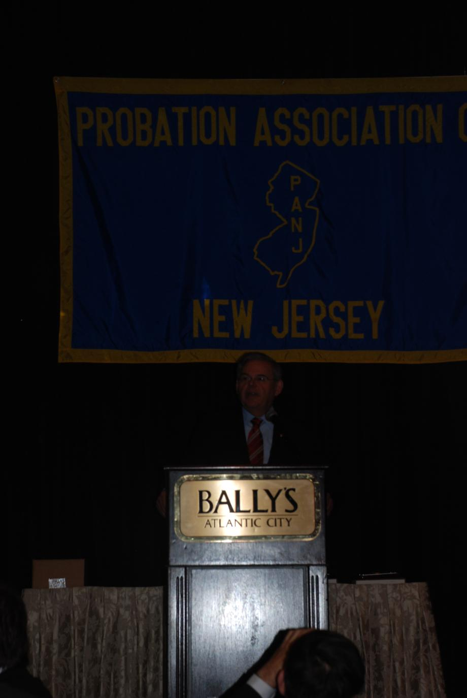 Speaking at the Probation Assocation of New Jersey's 68th Annual Training Conference