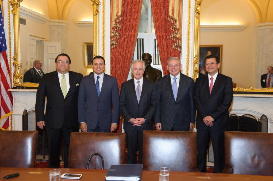 Central American Foreign Ministers Visit