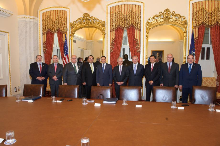 Visita de Ministros Centroamericanos