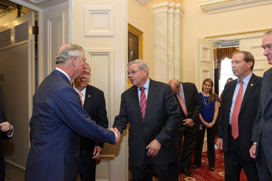 Visita del Príncipe Carlos