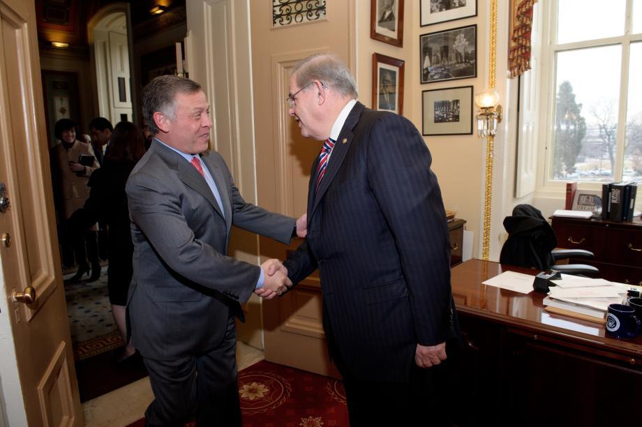 King Abdullah II of Jordan Visits