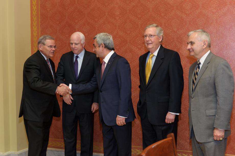 Armenia's President Visits