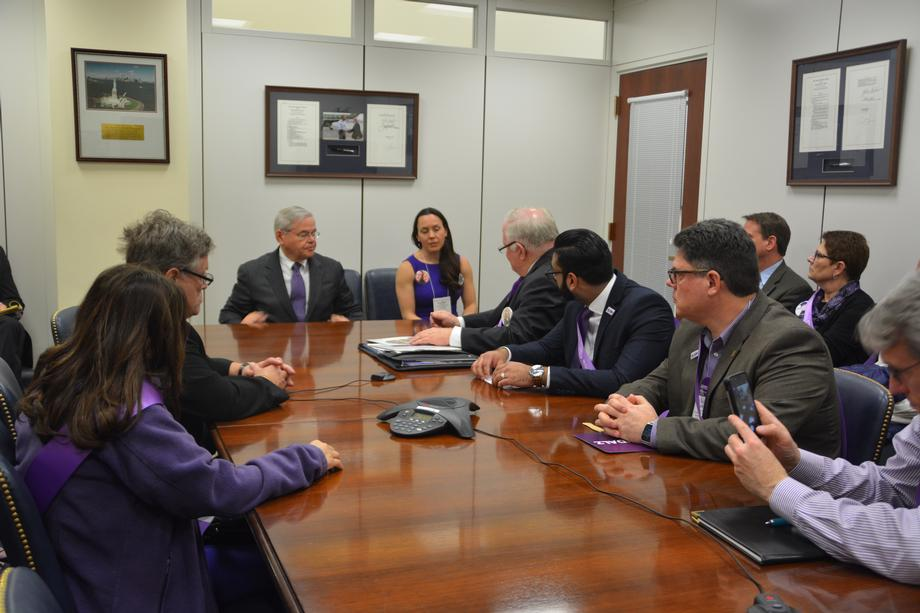 Meeting with the Alzheimer's Association of New Jersey
