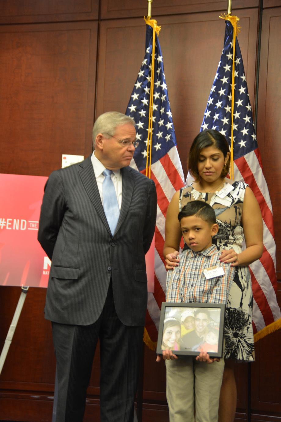 Senator Menendez Introducing the PROFILED Act to Counter Trump Immigration Actions