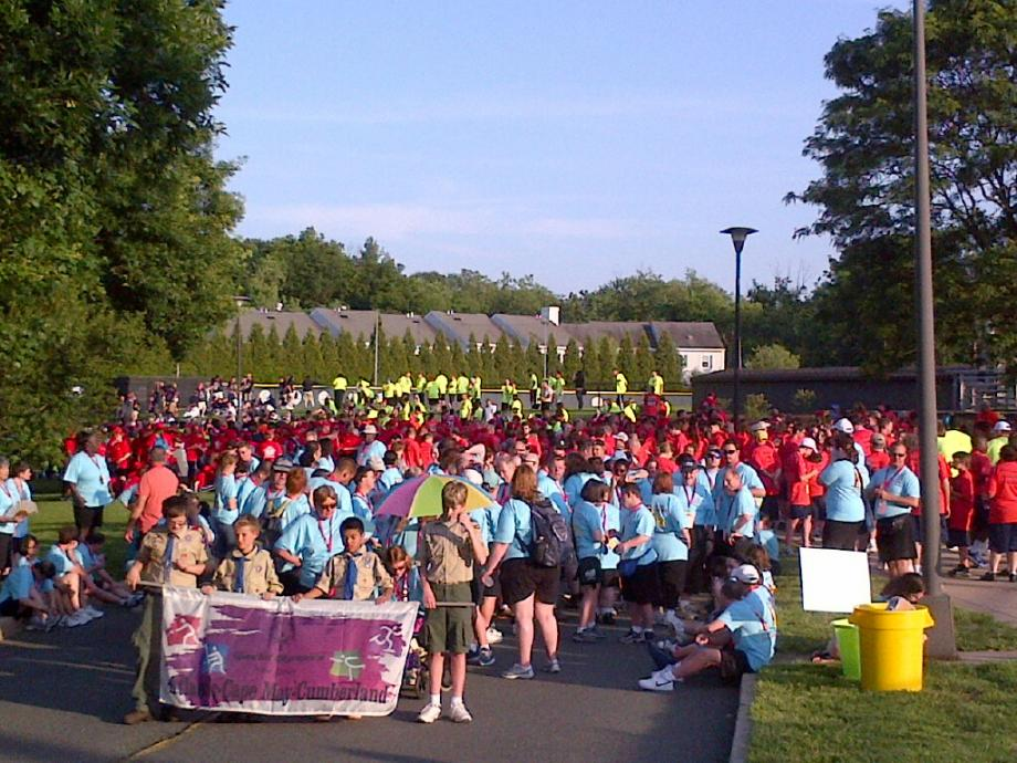 New Jersey Special Olympics Opening Ceremony