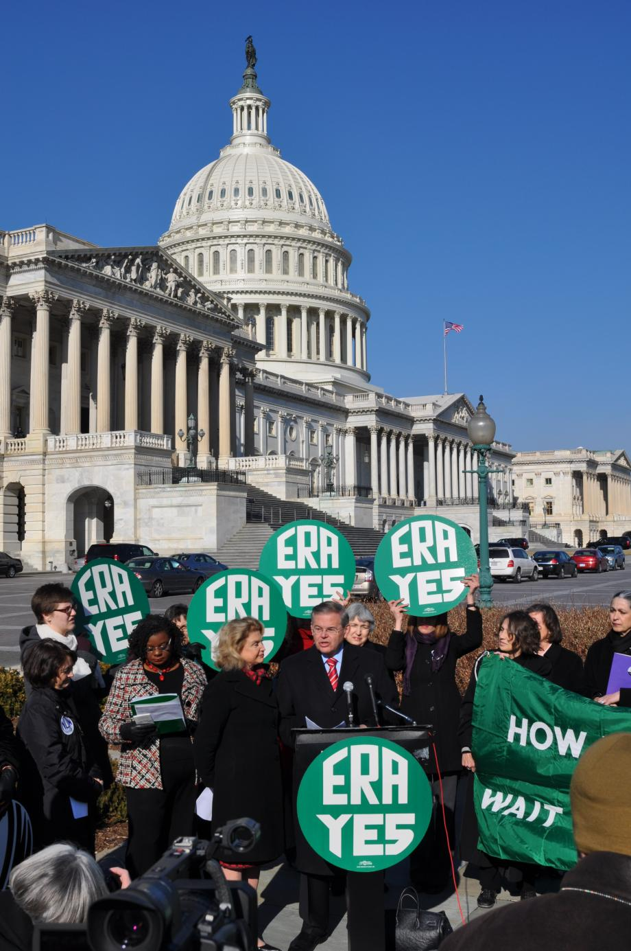 Menendez cites need for Equal Rights Amendment (Washington, DC)