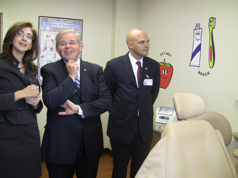 Menendez Attends North Hudson Community Action Corporation Dental Suite Ribbon Cutting (West New York, NJ)