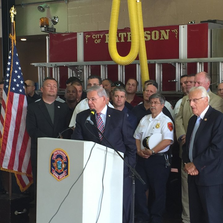 Paterson Fire Department Investment Announcement