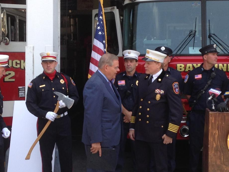 Bayonne Firefighters Grant