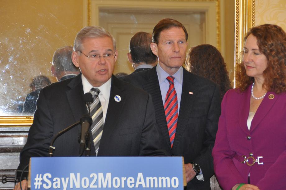 #SayNo2MoreAmmo Press Conference