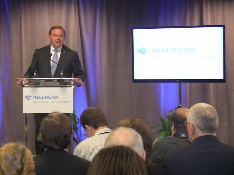 Ribbon Cutting for Allergan Inc.