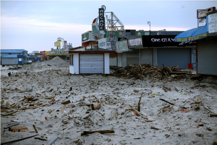 PHOTO #13. Dozens of small businesses are still closed in Seaside Heights. Photo: Star Ledger