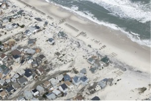 PHOTO #9. Ortley Beach where many homes were destroyed. Photo: Star Ledger