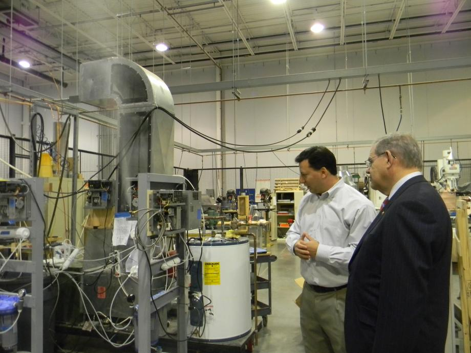 Menendez Tours Crestron's New Jersey Campus (Rockleigh, NJ)
