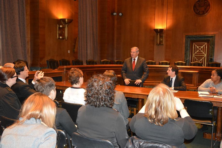 Senator Menendez Meets with NJ Arts