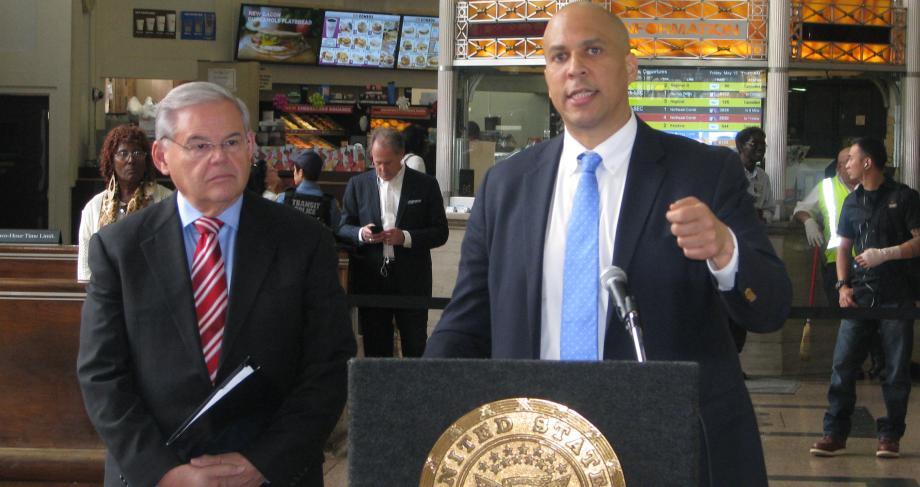 Senators Bob Menendez and Cory Booker address the fatal Amtrak 188 derailment along the Northeast Corridor and the pressing need for greater infrastructure investment to ensure a safe and modern rail system.
