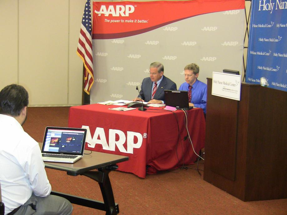 AARP New Jersey live tele-town hall on Health Insurance Reform Law (Teaneck, NJ)