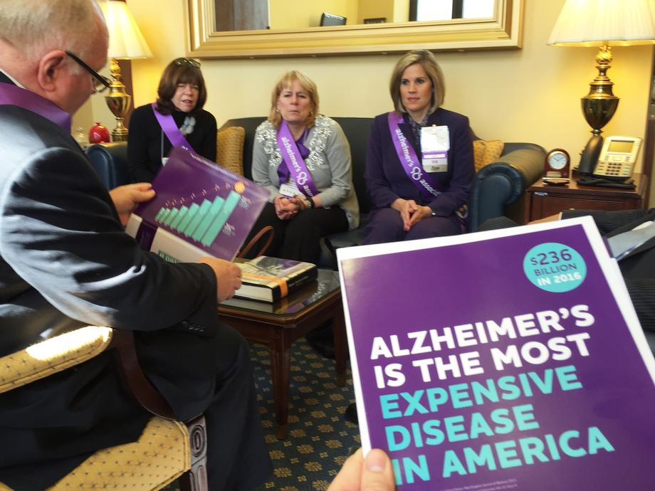 NJ Alzheimer's Association Meeting