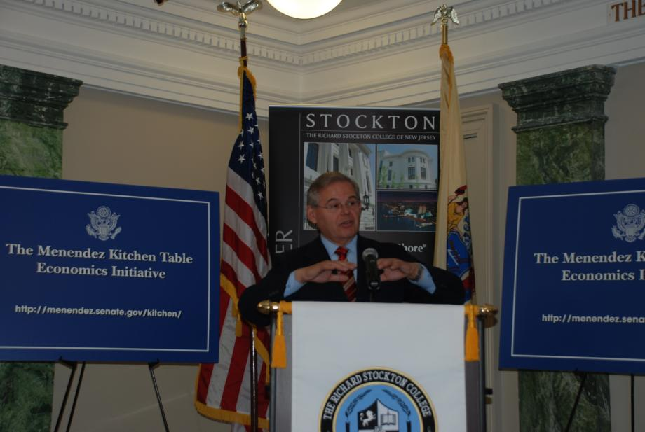 Championing Benefits of New Program to Boost Small Business Lending at Press Conference