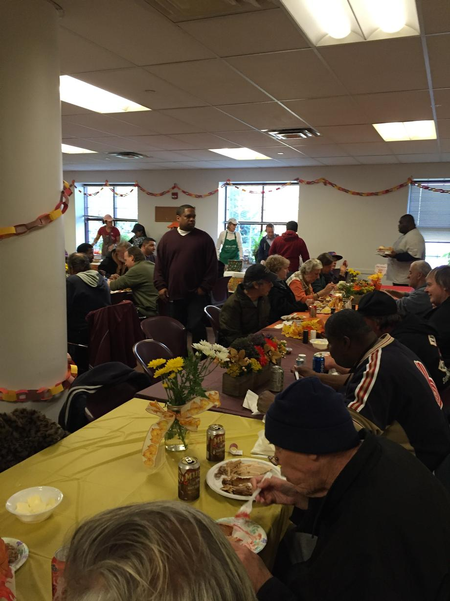 Thanksgiving at Family Promise of Bergen County
