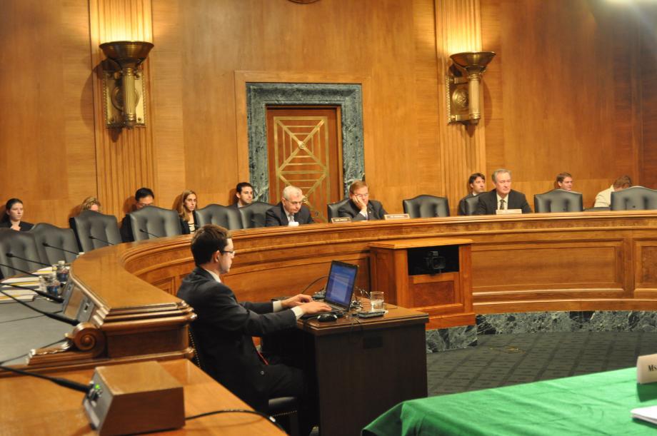 Senate Banking Subcommittee Hearing
