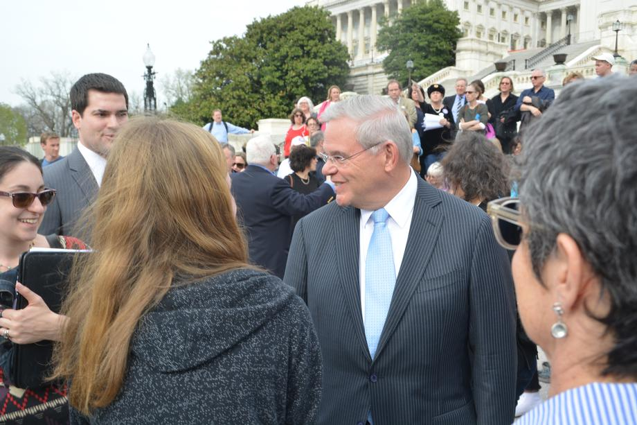 Menendez Visits Blue Wave NJ and NJ 11th for Change
