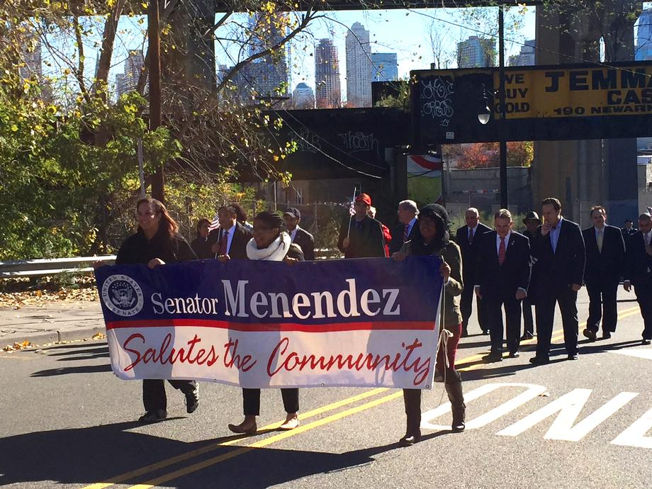 Jersey City Veterans Day Parade