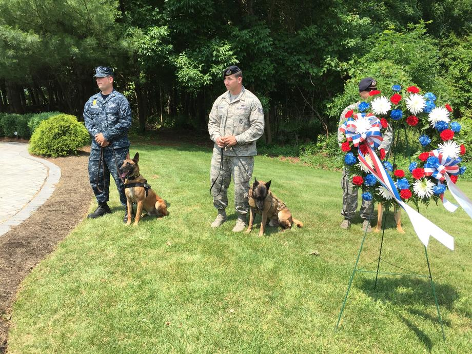 United States War Dogs Memorial Rededication