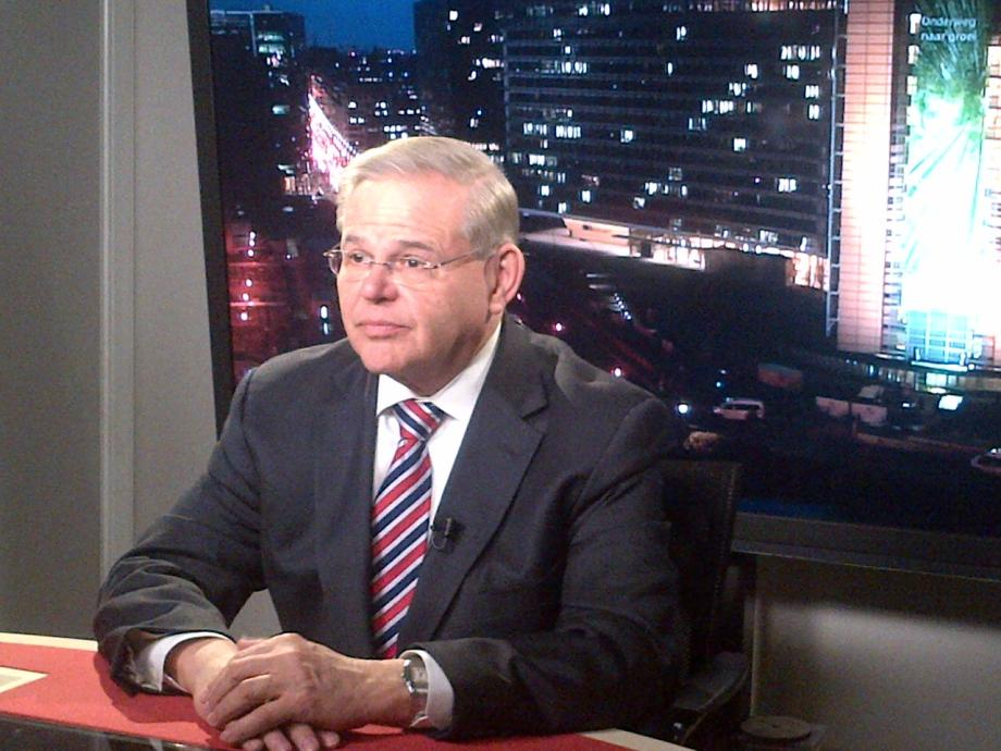 BBC's Katty Kay interviews Chairman Menendez about being sanctioned by Russian President Putin.