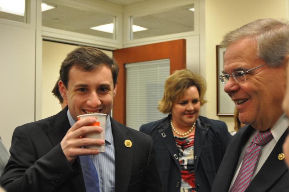 New Jersey Constituents Join the Senator and his Staff for Breakfast (Washington DC)