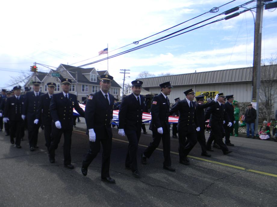 Senator Menendez At Belmar's St. Patrick's Day Parade