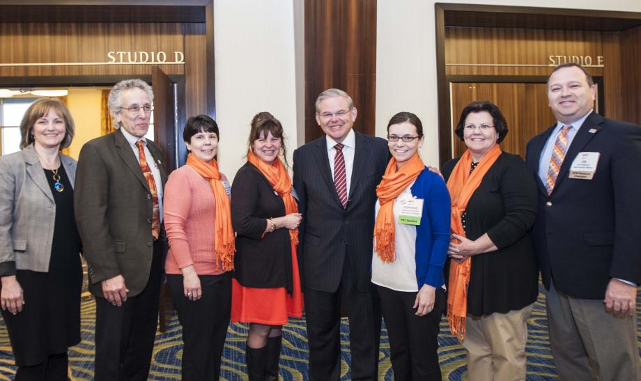 National Multiple Sclerosis Society's Senator of the Year