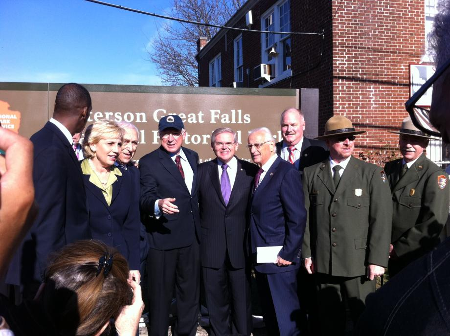 Dedication of Paterson NJ Park as America's 397th National Park (Paterson, NJ)